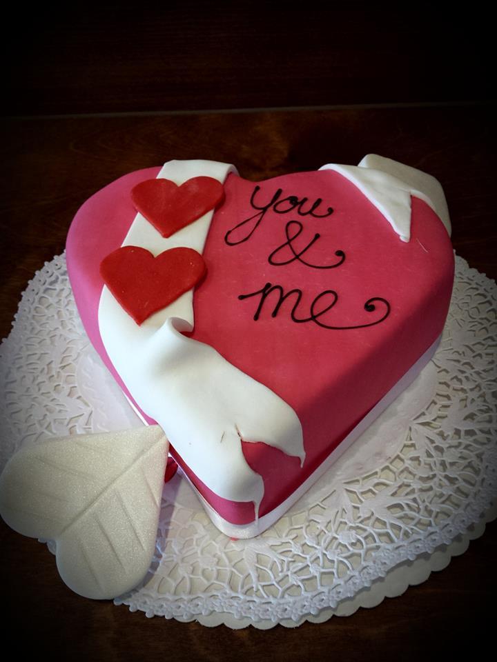 Herz Torten Schokoladchen