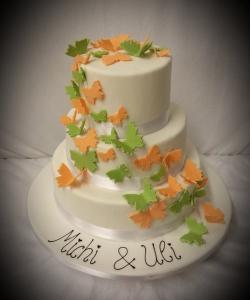 Torte Schmetterling