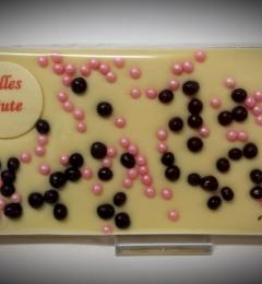 Grußtafel Alles Gute Weiße Schokolade