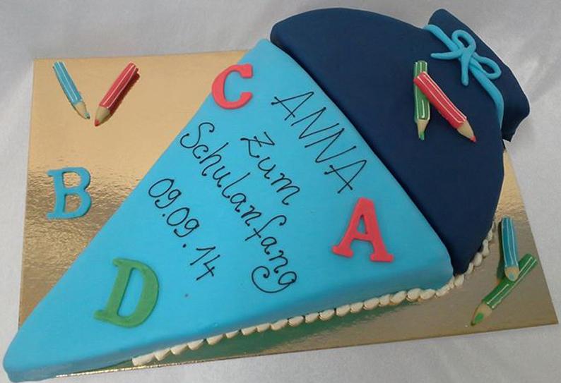 Anna - Torte für den Schulanfang