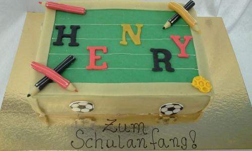 Henry - Torte für den Schulanfang